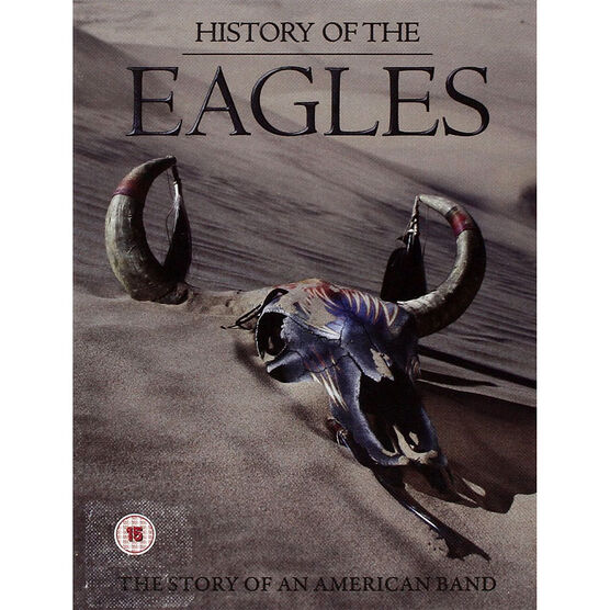 History Of The Eagles: The Story Of An  American Band - Deluxe Edition - DVD