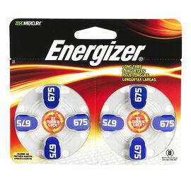 Energizer Lock & Turn Hearing Aid Batteries - AZ675DP-8 - 8 pack