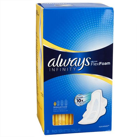 Always Infinity Regular - 36's / Jumbo