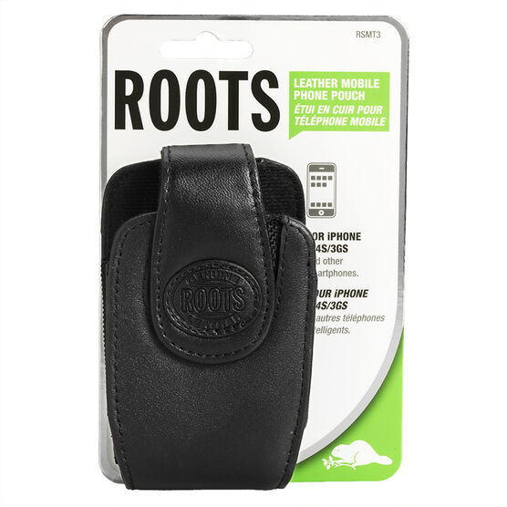 Roots Cell Case for iPhone/Blackberry - Black - RSMT3BK