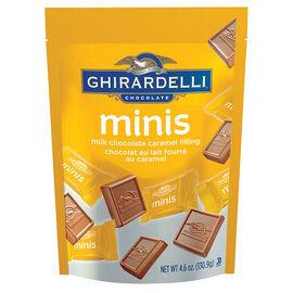 Ghirardelli Milk Chocolate Minis - Caramel - 131g