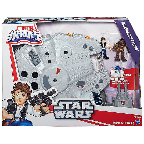 Galactic Heroes Star Wars Millennium Falcon
