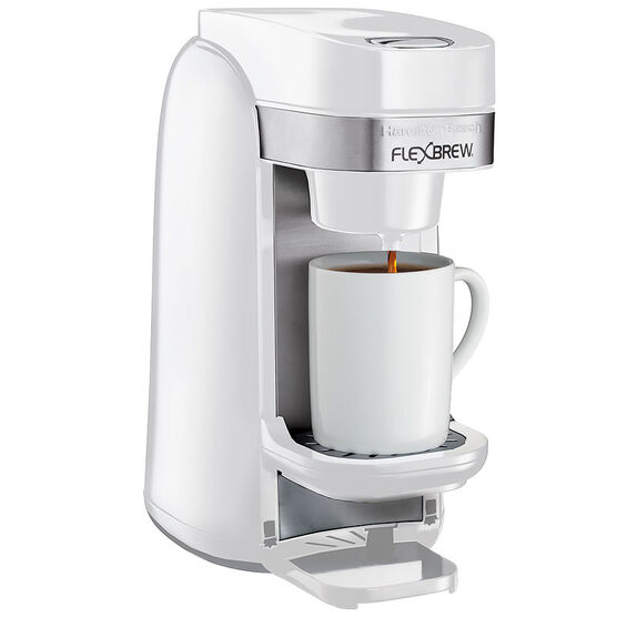 Hamilton Beach Flexbrew Single Serve - White - 49967C