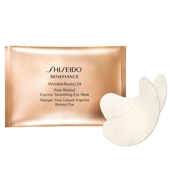 Shiseido Benefiance WrinkleResist24 Retinol Express Smoothing Eye Mask - 12 pack