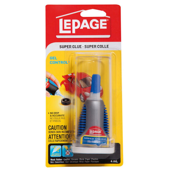 LePage® Gel Super Glue   - 4ml