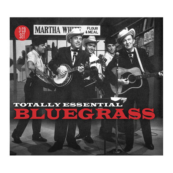 Various Artists - Totally Essential Bluegrass - 3 CD