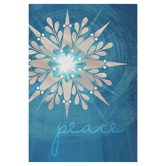 Unicef Star on Blue Background