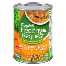 Campbell's Healthy Request Soup - Lemon Chicken Orzo - 540ml
