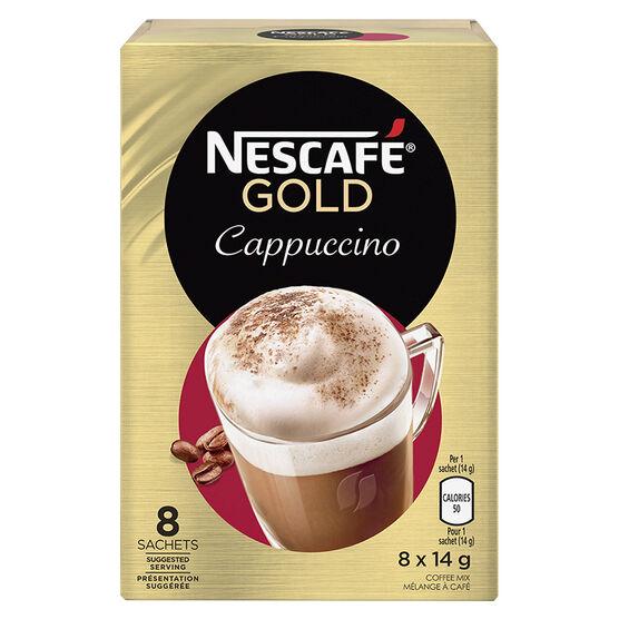 Nescafe - Cappuccino - 8 x 14g