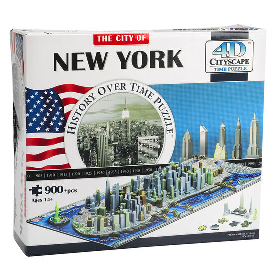 Cityscape 4D Puzzle - New York