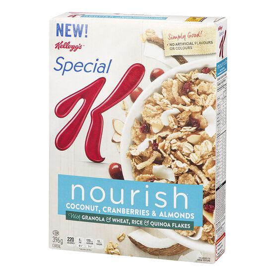 Kellogg's Special K Nourish Cereal - Coconut, Cranberries & Almonds - 396g