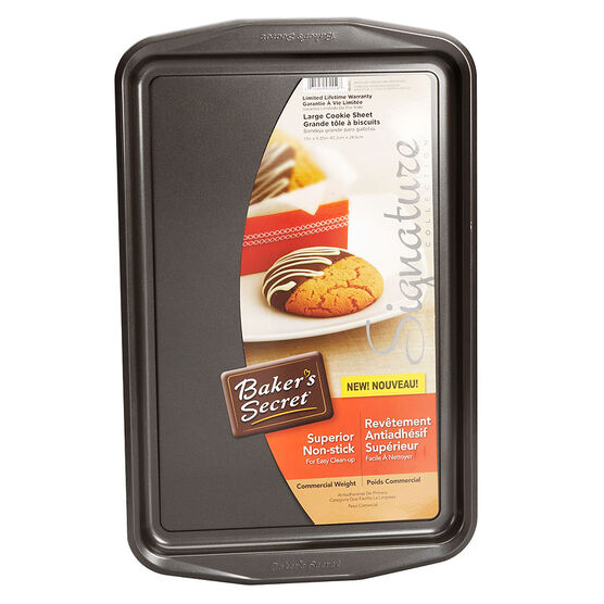 Baker's Secret Large Cookie Sheet - 43.3 x 28.5cm