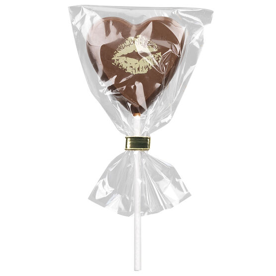 Waterbridge Milk Chocolate Heart Lolly - 25g