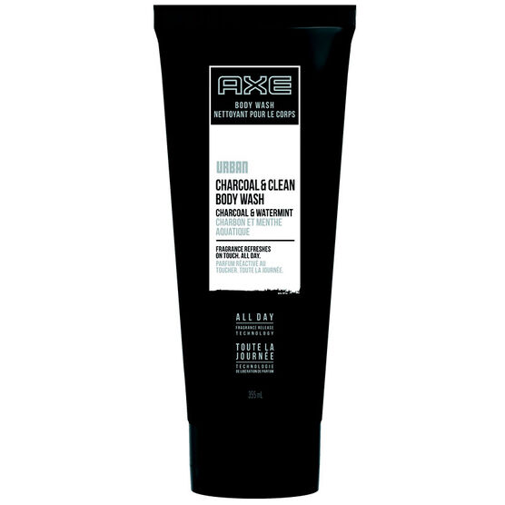 Axe Urban Charcoal & Clean Body Wash - Charcoal & Watermint - 355ml