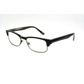Foster Grant Cartwright Reading Glasses - Black/Chrome - 2.50