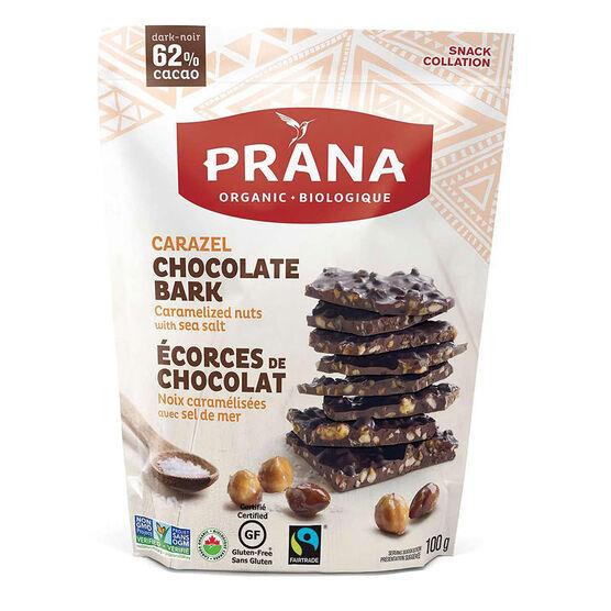 Prana Chocolate Bark - Carazel - 100g