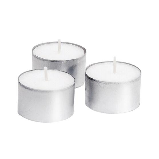Yummi 8 Hour Tealights - White - 50 pack