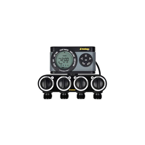 Melnor 4 Zone Digital Timer - 53281