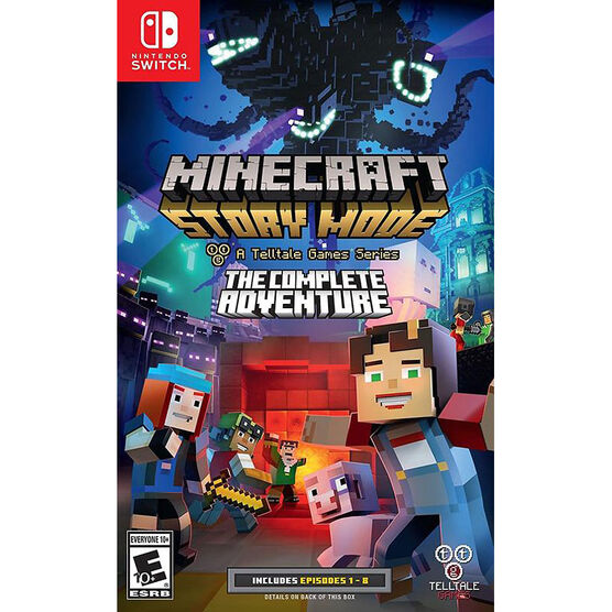 Nintendo Switch Minecraft Story Mode: The Complete Adventure