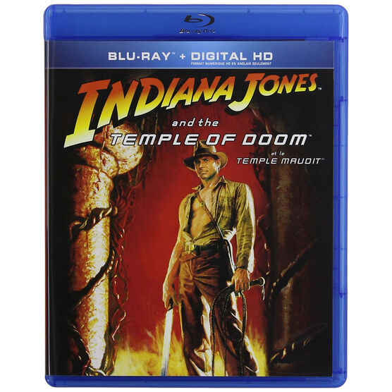 Indiana Jones and the Temple of Doom - Blu-ray