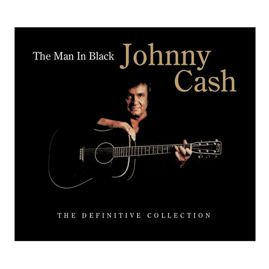 Johnny Cash - Johnny Cash: The Man In Black: The Definitive Collection - CD