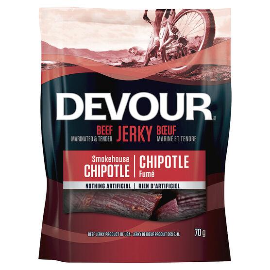 Devour Beef Jerky - Smokehouse Chipotle - 70g