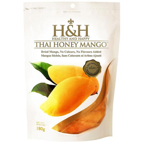 H&H  Healthy and Happy - Thai Honey Mango - 180g