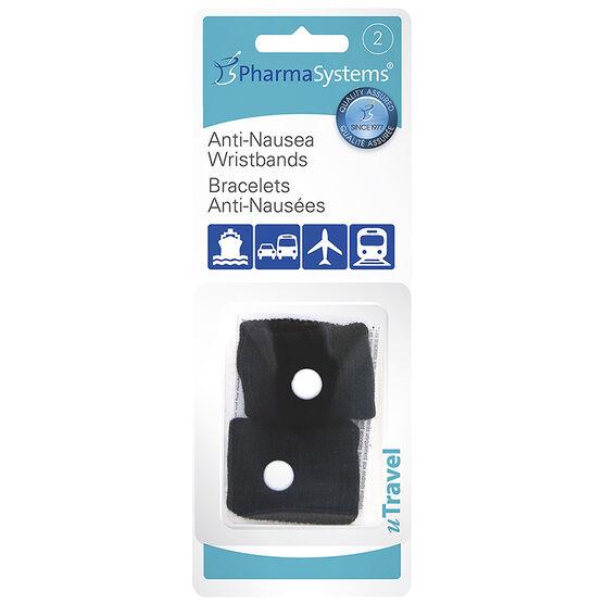 PharmaSystems U Travel Anti-Nausea Wristbands - Adult's