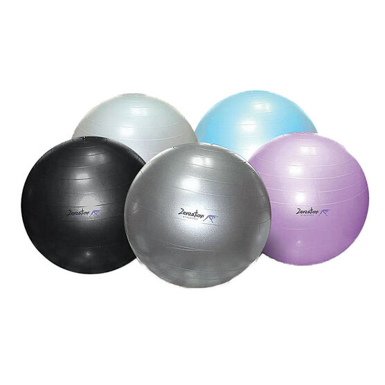 ZenZu Exercise Ball - 65cm - Assorted Colours