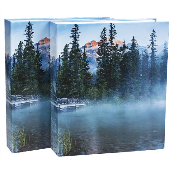 Pacific Trendz 400 Print Twin Pack Photo Album - Assorted - 4UP/4X6