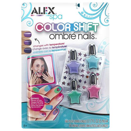 Alex Colour Shift Ombre Nails