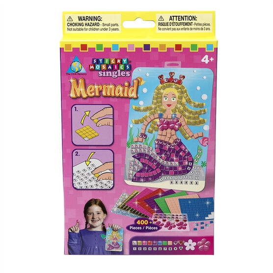 Sticky Mosaic Singles - Mermaid