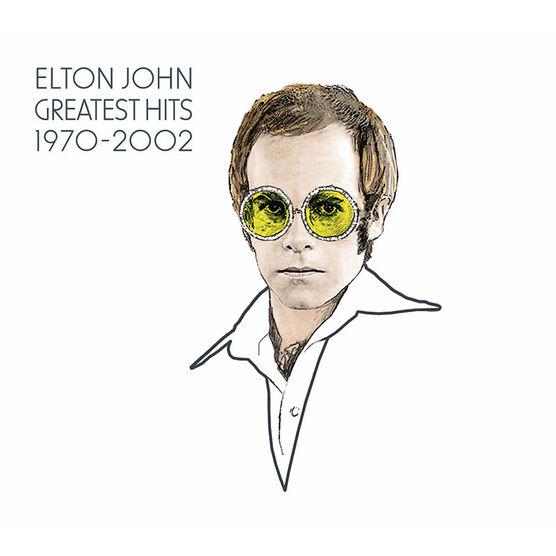John Elton - Greatest Hits 1970-2002 - CD