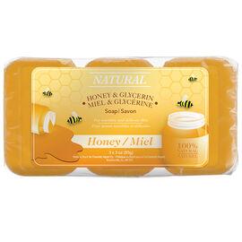 Honey Glycerine Soap - 3 x 85g