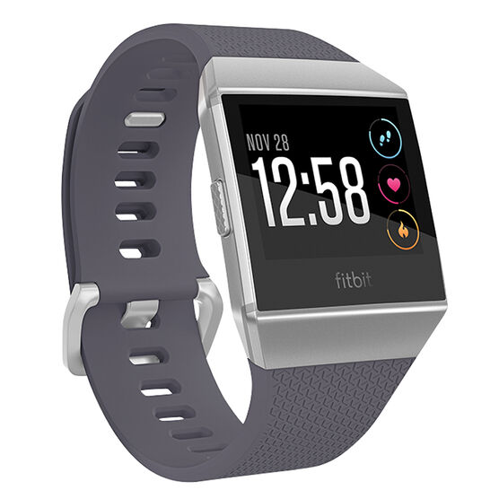 Fitbit Ionic Smartwatch - Silver/Gray