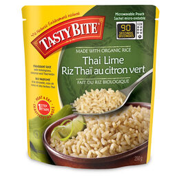 Tasty Bite Organic Thai Lime Rice - 250g
