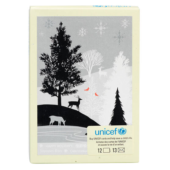 Unicef Silver Foil Outdoor Sceen