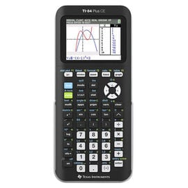 TI 84 Plus CE Graphing Calculator - Black - TI84PLUSCE