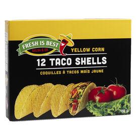 Fresh is Best Yellow Corn Taco Shells - 156g