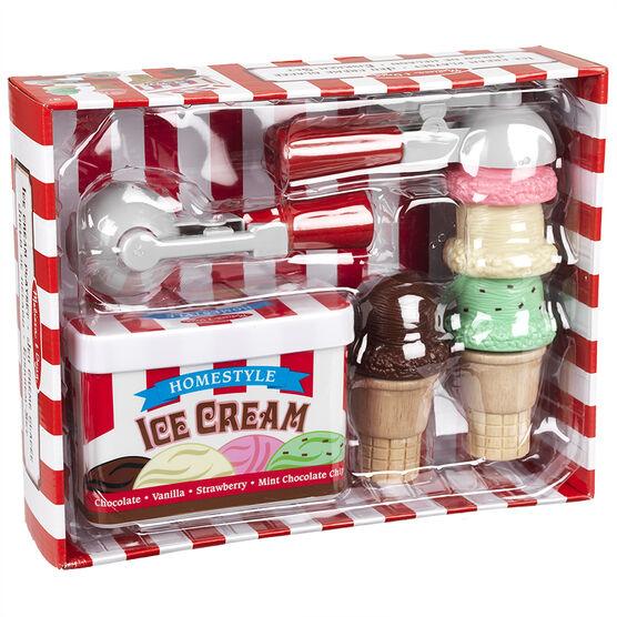 Melissa & Doug - Scoop Stack Ice Cream Set