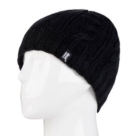Heat Holders Ladies Knit Toque - Black