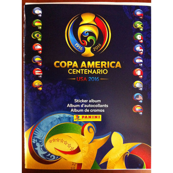 2016 Copa Soccer Album - Assorted