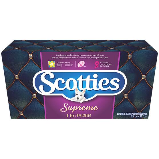 Scotties Supreme Facial Tissues - 88's