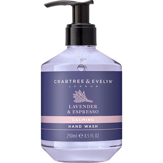 Crabtree & Evelyn Lavender & Espresso Calming Hand Wash - 250ml