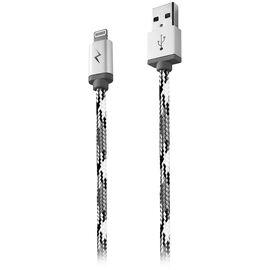 Logiix Piston Connect Woven Lightning Cable - 1.5 m