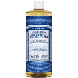 Dr. Bronner's 18-IN-1 Pure-Castile Liquid Soap - Peppermint - 944ml