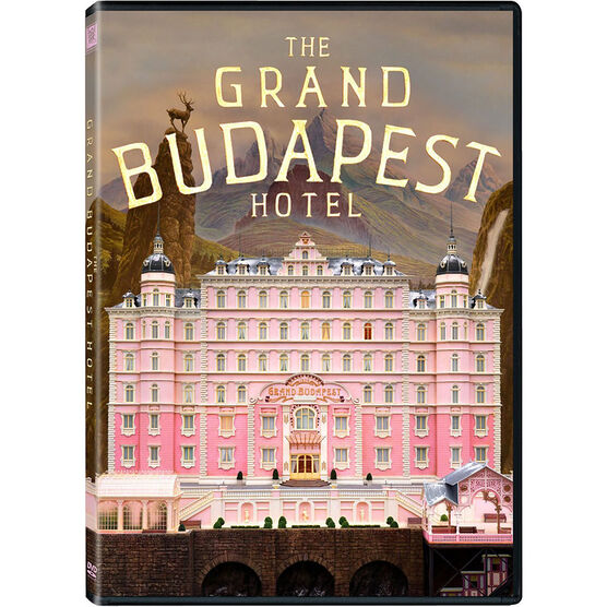 The Grand Budapest Hotel - DVD