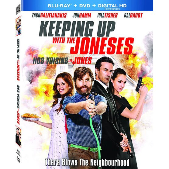 Keeping Up With The Joneses - Blu-ray
