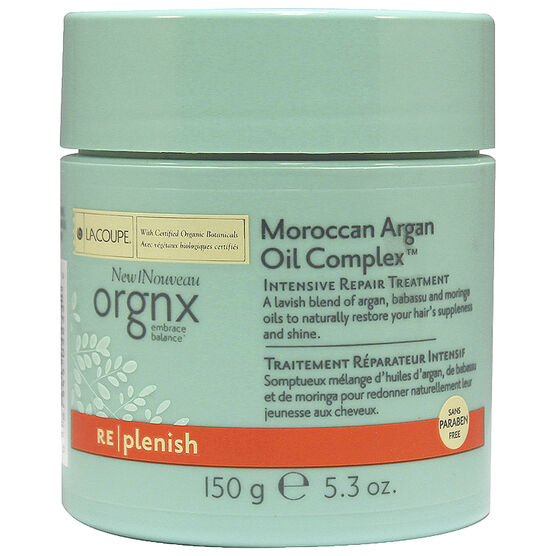 Orgnx Moroccan Argan Oil Complex Intensive Repair Treatment - 150g