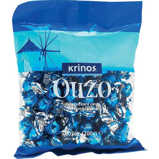 Krinos Ouzo Hard Candies - 200g